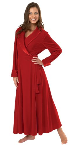Ruby Velour Robe
