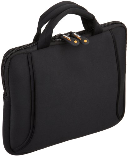 AmazonBasics Netbook Bag with Handle, Fits 7- to 10-Inch Netbooks, iPad (Black)