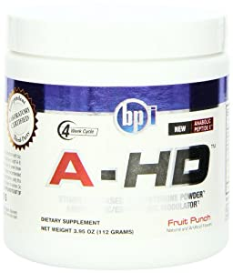 BPI Sports A-HD Diet Supplement, Fruit Punch, 3.95 Ounces