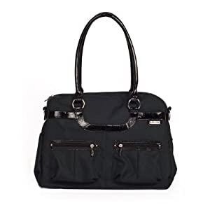 jj cole satchel diaper bag onyx discontinued by manufacturer diaper tote bags. Black Bedroom Furniture Sets. Home Design Ideas