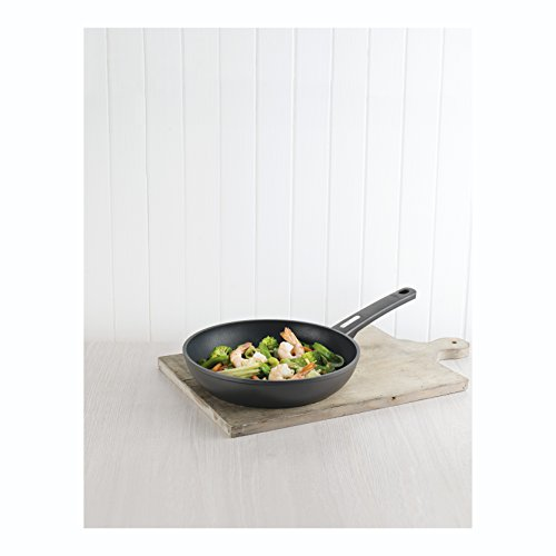 kuhn rikon easy induction non stick frying pan 28 cm black the british kitchen company. Black Bedroom Furniture Sets. Home Design Ideas