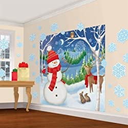 Winter Friends Christmas Scene Setters