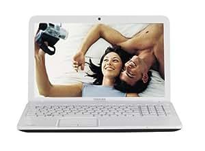 """Toshiba Satellite C855-17C Ordinateur portable 15,6"""" (39,62 cm) Intel Pentium 640 Go RAM 6144 Mo Windows 7 Edition Premium AMD Radeon HD 7610M Blanc"""