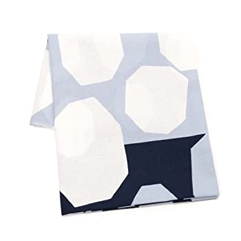 (マリメッコ) Marimekko 生地(布) 約70cm×88cm 65786 ROUSTIKKO COTTON FABRIC 590 d.blue/grey/white [並行輸入品]
