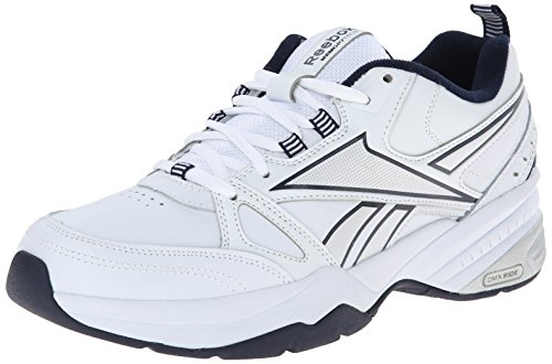 Reebok Men's Royal Trainer MT Training Shoe, White/Collegiate Navy/Pure Silver, 11.5