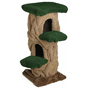 Kitty Hollow Cat Tree : Size 48 INCH