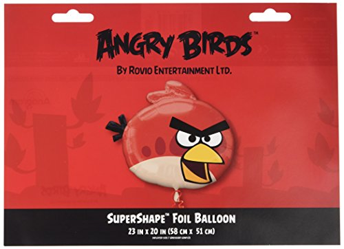 Mayflower 221483 Angry Birds Red Bird Foil Balloon