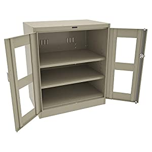Counter Height Storage Cabinet : Counter Height Storage Cabinet, Sand