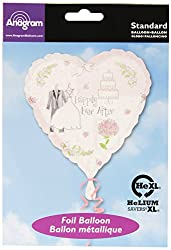 Anagram International A11999601 Sweet Romance Balloon Pack, 18