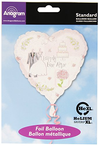"Anagram International A11999601 Sweet Romance Balloon Pack, 18"" - 1"