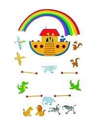 Noahs Ark Wooden Mobile 12\