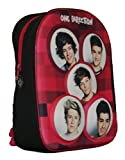 New Girls/Childrens 1D Rucksack/Bag With 3D Effect Image Of The Boys - Red - UK SIZES 1-1