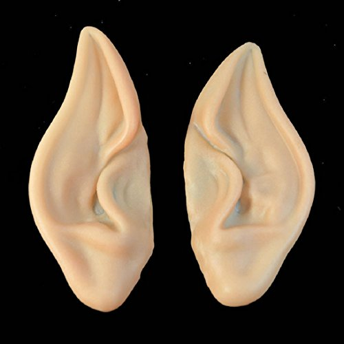 WensLTD 1Pair Pointed Fairy Elf Cosplay Halloween Costume Ear Tips