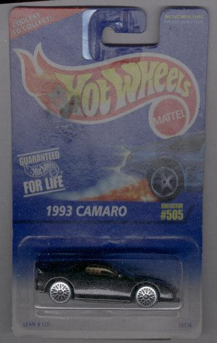 Hot Wheels 1996-505 1993 Camaro Tire Variation 1:64 Scale - 1
