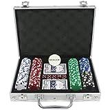 Ak Sport - 0603019 - Jeu De Cartes - Coffret De Poker En Aluminium - 200 Pièces