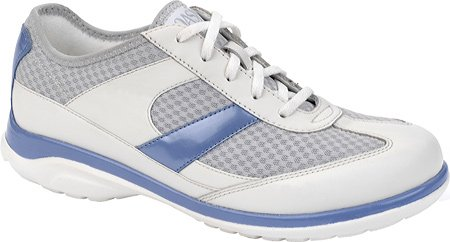 Oasis Women's Emma Lace-Up Shoes, White, 8 E Us (Oasis Diabetic Shoes compare prices)