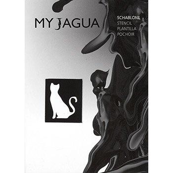 Schablone katze f r henna jagua airbrush tattoos geeignet for Jagua tattoo amazon