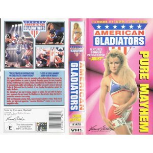 American Gladiators [VHS] SALE