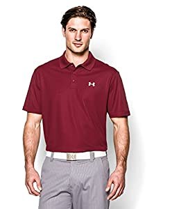 Under Armour Men's UA Performance Polo Small Crimson