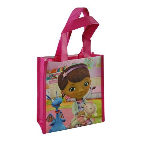 WeGlow International Doc McStuffins Mini Non-Woven Tote Bag with Matte Printing (Set of 2)