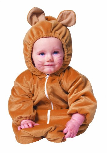 Bear Bunting Zipper Velboa Infant Costume