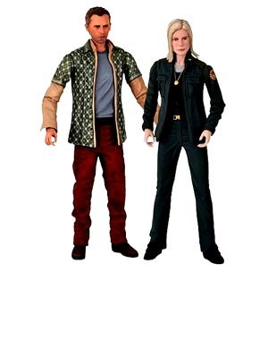 Picture of Diamond Comics Battlestar Galactica: Leoben & Starbuck Action Figure Two-Pack (B001RJ7SQ2) (Diamond Comics Action Figures)