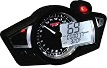 Koso North America RX-1N GP Style Multi-Function Gauge - Black Panel BA011W02