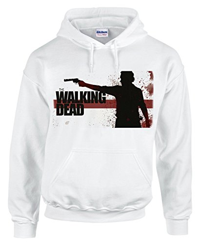 Felpa con cappuccio The walking dead - serie tv - in cotone by Fashwork