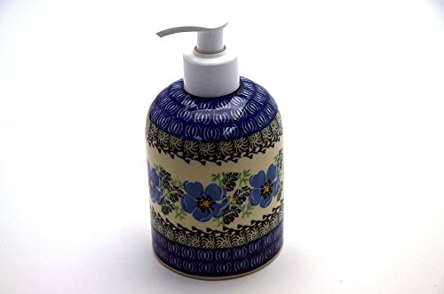 Polish Pottery Soap/Lotion Dispenser - Morning Glory (Polish Pottery House compare prices)