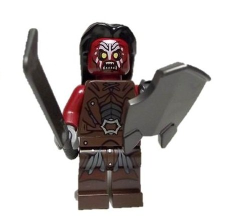 Lego Lord of the Rings Uruk-Hai Minifigure - 1