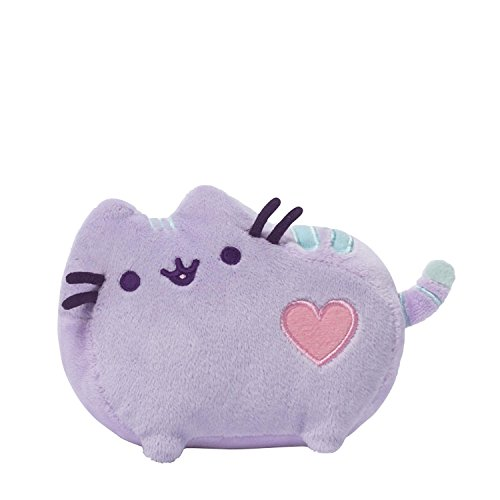Pusheen Pastel Purple Heart Plush