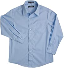 French Toast School Uniforms Long Sleeve Dress Shirt with Expandable Collar Boys