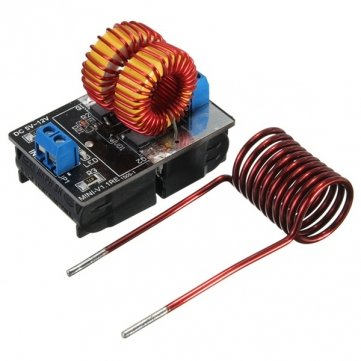 VKmaker 5V -12V ZVS Induction Heating Power Supply Module With Coil (Induction Coil Microphone compare prices)