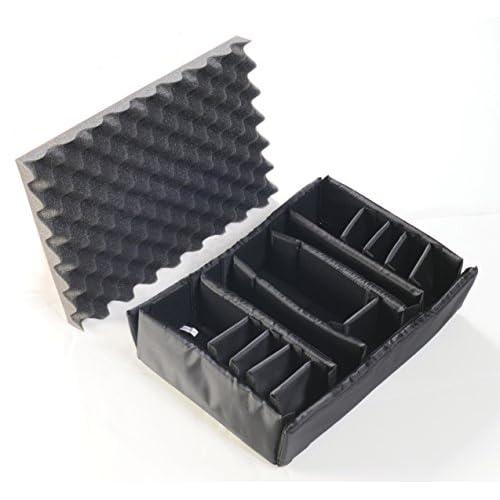 PELICAN ハードケース 1505 ディバイダー 9.6L グレー 1500-406-100