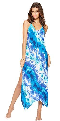 hawaiian-tropic-tie-dye-maxi-cover-up-beach-dress-medium