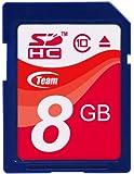 Team SDHCカード 8GB Class 10 ECOパッケージ 10年保証 TASD8GBC10E