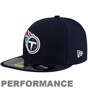 NFL Child Tennessee Titans On Field 5950 Navy Game Cap By New Era by New Era