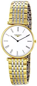 Longines L47092117 La Grand Classic in Steel and 18k Gold Ultra Thin Men's Watch from Longines