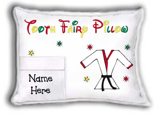Tooth Fairy Pillow (self-contained pillow) - Martial Arts