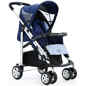 Zooper Waltz Blueberry Waves Single Child Baby Stroller