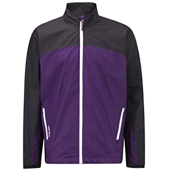 Ping Collection Mens Hydro Waterproof Golf Jacket Small Purple by Ping Collection