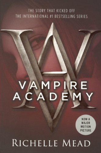 Book cover to 'Vampire Academy'