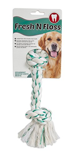 Artikelbild: Aspen Pet Booda Fresh n Floss Extra Large Rope Bone for Dogs 85-200lbs Spearmint Flavored