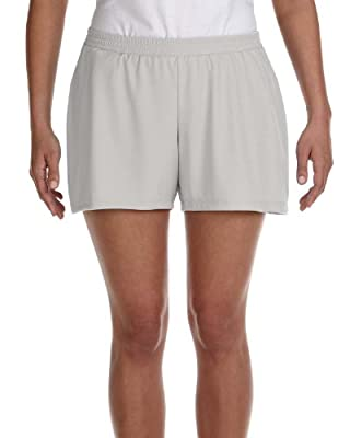 Alo Ladies Performance Polyester Interlock Dry Wicking Short from Alo Sport