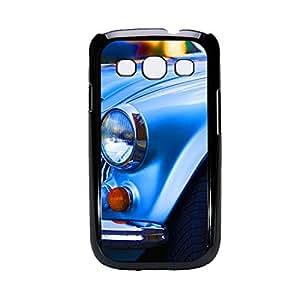 Vibhar printed case back cover for Samsung Galaxy Grand 2 BlueCar