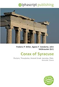 Corax of Syracuse: Rhetoric, Thrasybulus, Ancient Greek