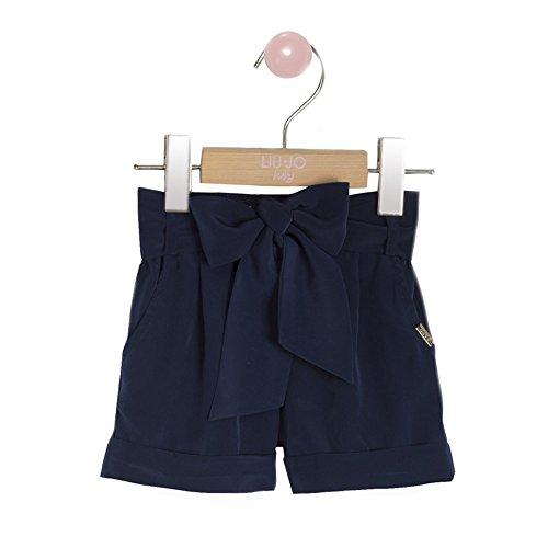 Liu Jo - Shorts, Colore: Blu Taglia: 18 Mesi