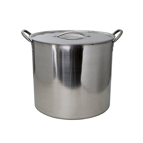 5 Gallon Stainless Steel Stock Pot with Lid (Stainless Steel Kettle 5 Gallon compare prices)