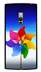 """Humor Gang Paper Wind Wheel Printed Designer Mobile Back Cover For """"OnePlus Two"""" (2D, Glossy, Premium Quality Snap On Case)"""