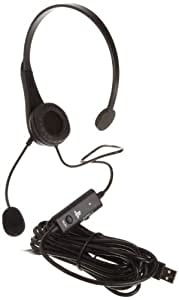AmazonBasics Casque audio filaire USB pour PlayStation 3 (Produit agréé par Sony)
